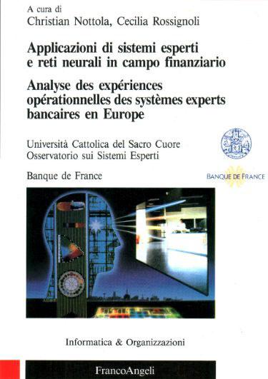 Applicazioni di sistemi esperti e reti neurali in campo finanziario